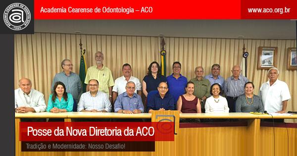 Posse da nova Diretoria da ACO – Tradição e Modernidade: Nosso Desafio!